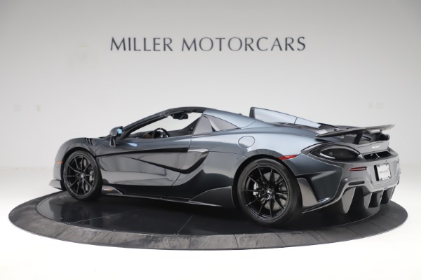 Used 2020 McLaren 600LT SPIDER Convertible for sale $249,900 at Bentley Greenwich in Greenwich CT 06830 3