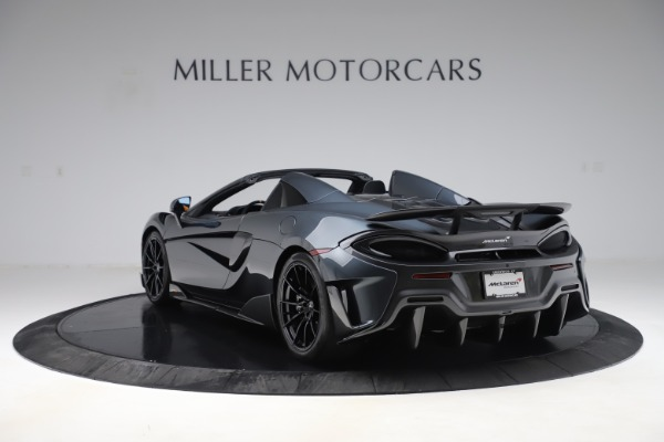 Used 2020 McLaren 600LT SPIDER Convertible for sale $249,900 at Bentley Greenwich in Greenwich CT 06830 4