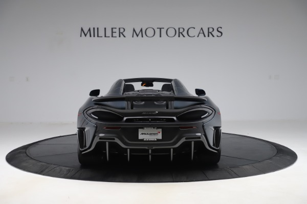 Used 2020 McLaren 600LT SPIDER Convertible for sale $249,900 at Bentley Greenwich in Greenwich CT 06830 5