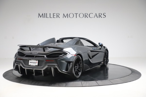 Used 2020 McLaren 600LT SPIDER Convertible for sale $249,900 at Bentley Greenwich in Greenwich CT 06830 6