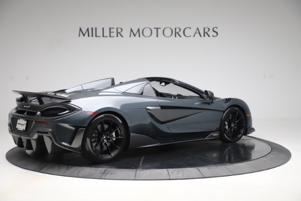 Used 2020 McLaren 600LT SPIDER Convertible for sale $249,900 at Bentley Greenwich in Greenwich CT 06830 7