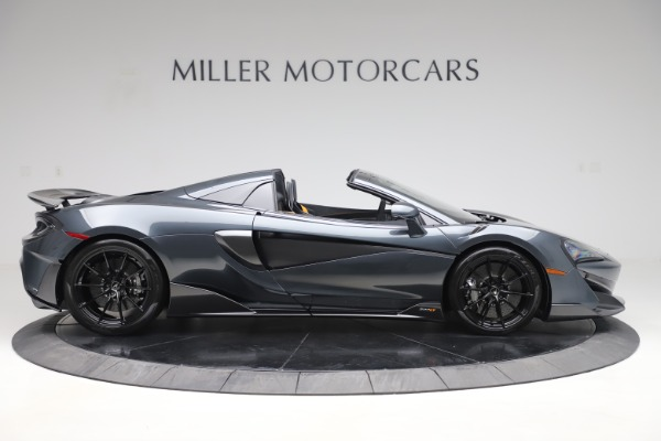 Used 2020 McLaren 600LT SPIDER Convertible for sale $249,900 at Bentley Greenwich in Greenwich CT 06830 8
