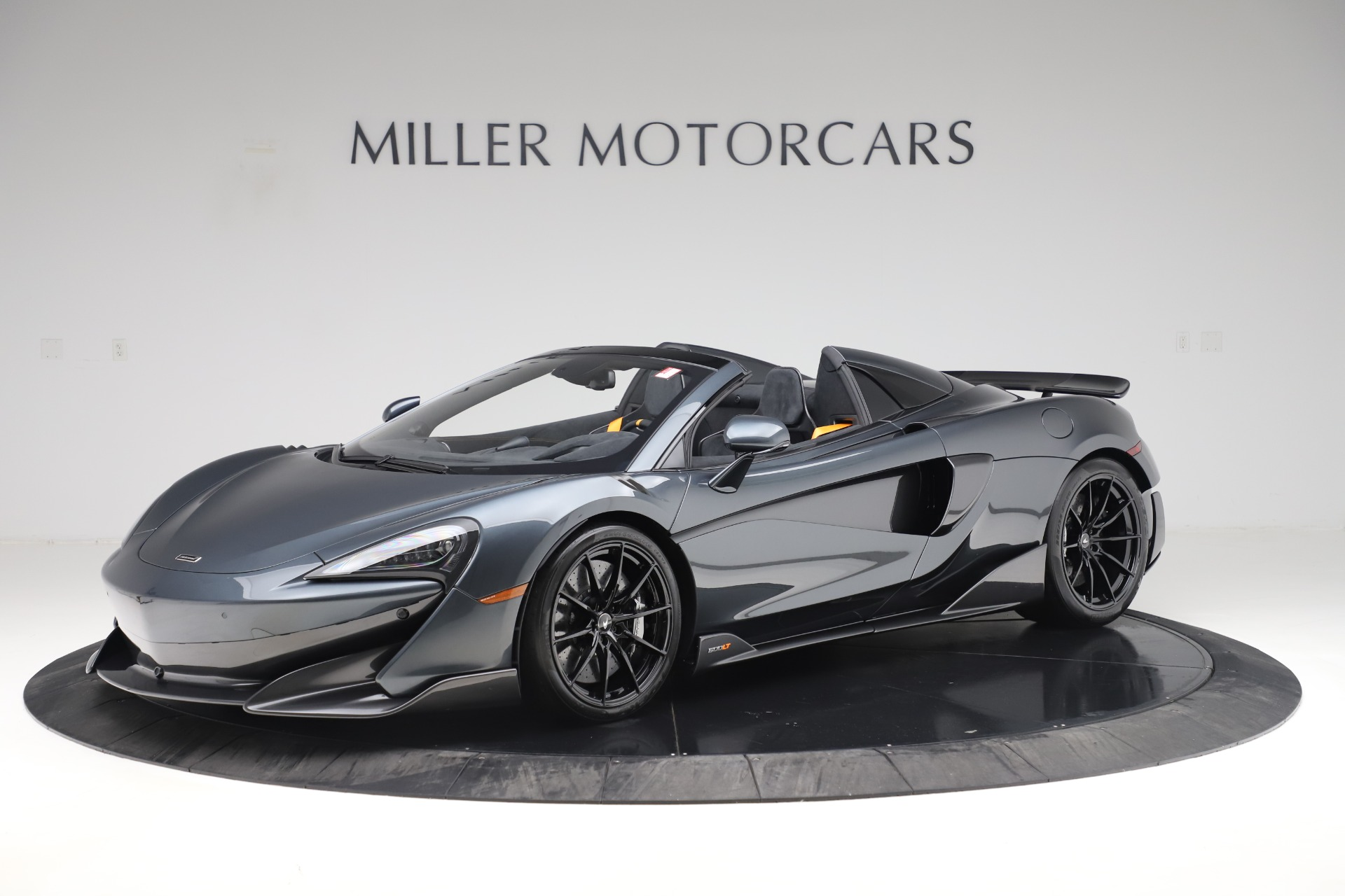 Used 2020 McLaren 600LT SPIDER Convertible for sale $249,900 at Bentley Greenwich in Greenwich CT 06830 1