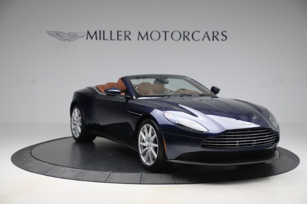 New 2020 Aston Martin DB11 Volante Convertible for sale $242,036 at Bentley Greenwich in Greenwich CT 06830 11
