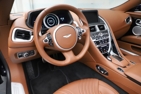New 2020 Aston Martin DB11 Volante Convertible for sale $242,036 at Bentley Greenwich in Greenwich CT 06830 22
