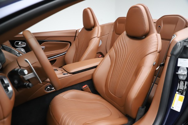 New 2020 Aston Martin DB11 Volante Convertible for sale $242,036 at Bentley Greenwich in Greenwich CT 06830 23