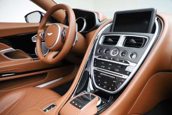 New 2020 Aston Martin DB11 Volante Convertible for sale $242,036 at Bentley Greenwich in Greenwich CT 06830 25