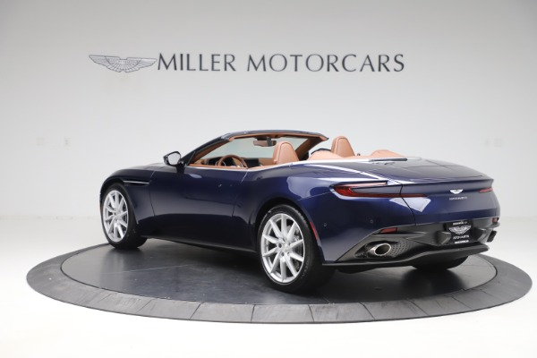 New 2020 Aston Martin DB11 Volante Convertible for sale $242,036 at Bentley Greenwich in Greenwich CT 06830 4