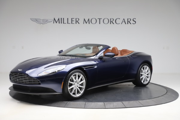 New 2020 Aston Martin DB11 Volante Convertible for sale $242,036 at Bentley Greenwich in Greenwich CT 06830 1