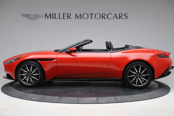 New 2020 Aston Martin DB11 Volante Convertible for sale $254,531 at Bentley Greenwich in Greenwich CT 06830 2