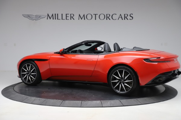 New 2020 Aston Martin DB11 Volante Convertible for sale $254,531 at Bentley Greenwich in Greenwich CT 06830 3