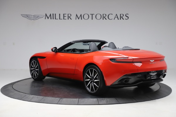 New 2020 Aston Martin DB11 Volante Convertible for sale $254,531 at Bentley Greenwich in Greenwich CT 06830 4