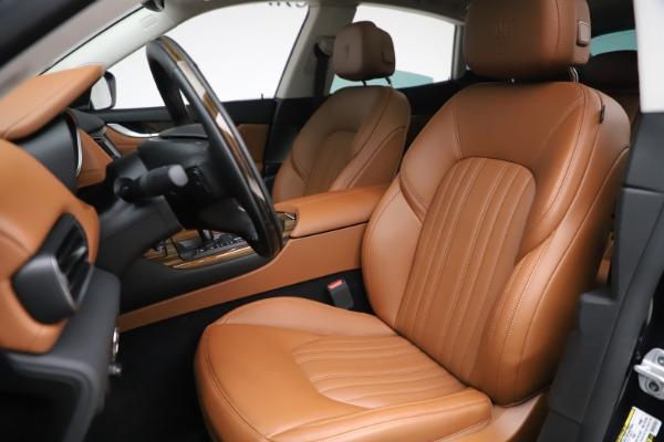 New 2019 Maserati Levante Q4 GranLusso for sale $89,550 at Bentley Greenwich in Greenwich CT 06830 13