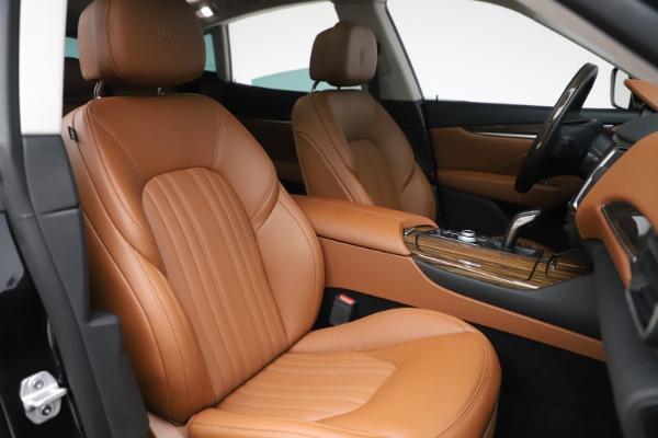 New 2019 Maserati Levante Q4 GranLusso for sale $89,550 at Bentley Greenwich in Greenwich CT 06830 21