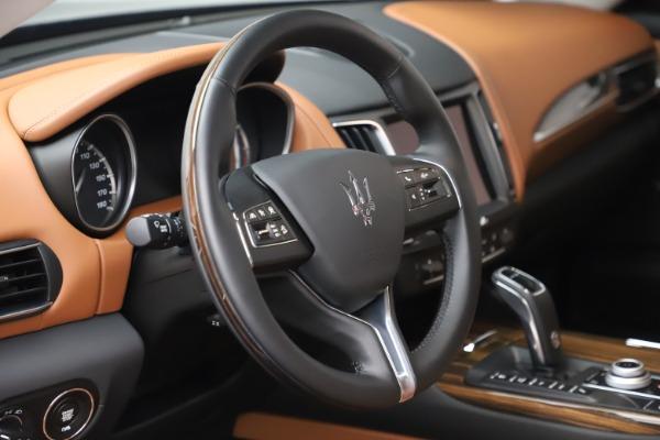 New 2019 Maserati Levante Q4 GranLusso for sale $89,550 at Bentley Greenwich in Greenwich CT 06830 24