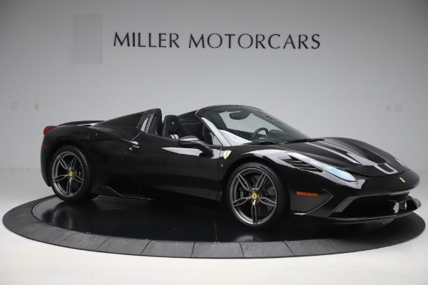 Used 2015 Ferrari 458 Speciale Aperta for sale $635,900 at Bentley Greenwich in Greenwich CT 06830 10