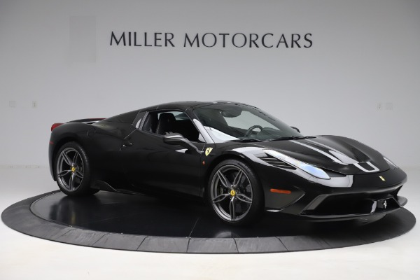 Used 2015 Ferrari 458 Speciale Aperta for sale $635,900 at Bentley Greenwich in Greenwich CT 06830 18
