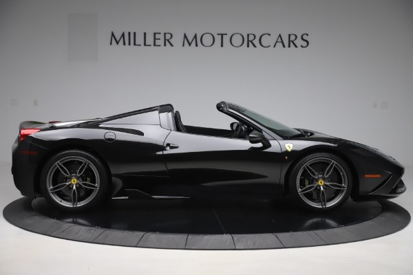 Used 2015 Ferrari 458 Speciale Aperta for sale $635,900 at Bentley Greenwich in Greenwich CT 06830 9