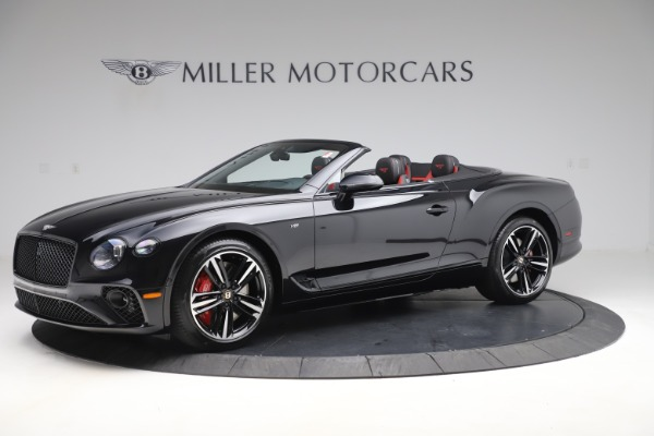New 2020 Bentley Continental GTC V8 for sale $271,550 at Bentley Greenwich in Greenwich CT 06830 2