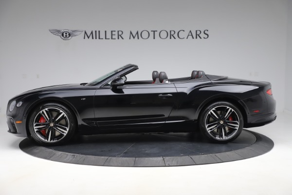 New 2020 Bentley Continental GTC V8 for sale $271,550 at Bentley Greenwich in Greenwich CT 06830 3