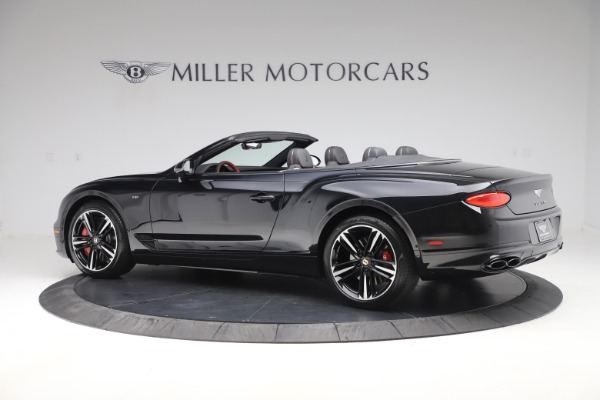New 2020 Bentley Continental GTC V8 for sale $271,550 at Bentley Greenwich in Greenwich CT 06830 4
