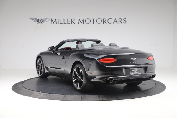 New 2020 Bentley Continental GTC V8 for sale $271,550 at Bentley Greenwich in Greenwich CT 06830 5