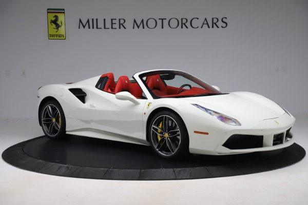 Used 2018 Ferrari 488 Spider for sale Sold at Bentley Greenwich in Greenwich CT 06830 10