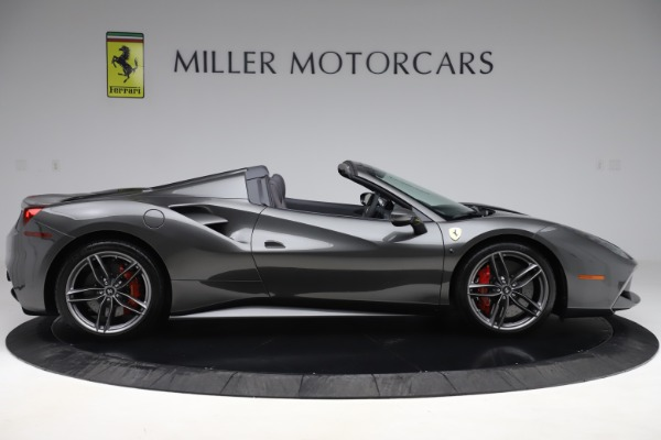 Used 2018 Ferrari 488 Spider for sale Sold at Bentley Greenwich in Greenwich CT 06830 9