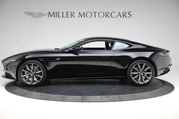 Used 2018 Aston Martin DB11 V8 for sale Sold at Bentley Greenwich in Greenwich CT 06830 2