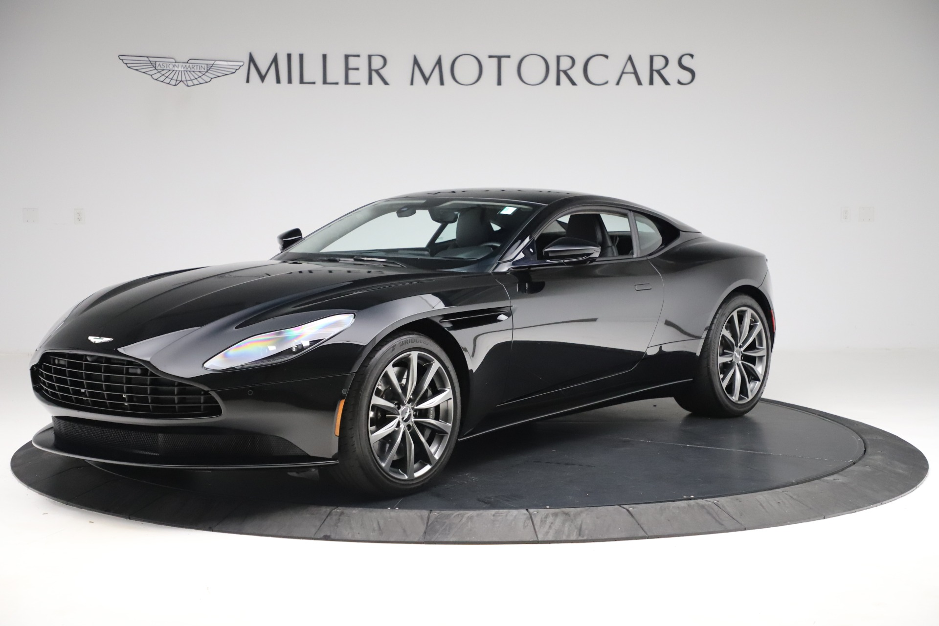 Used 2018 Aston Martin DB11 V8 for sale Sold at Bentley Greenwich in Greenwich CT 06830 1
