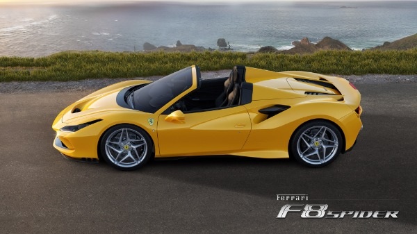 New 2020 Ferrari F8 Spider for sale Call for price at Bentley Greenwich in Greenwich CT 06830 2