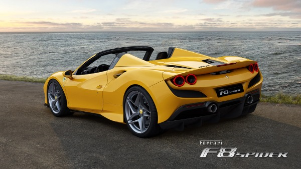 New 2021 Ferrari F8 Spider for sale Call for price at Bentley Greenwich in Greenwich CT 06830 4