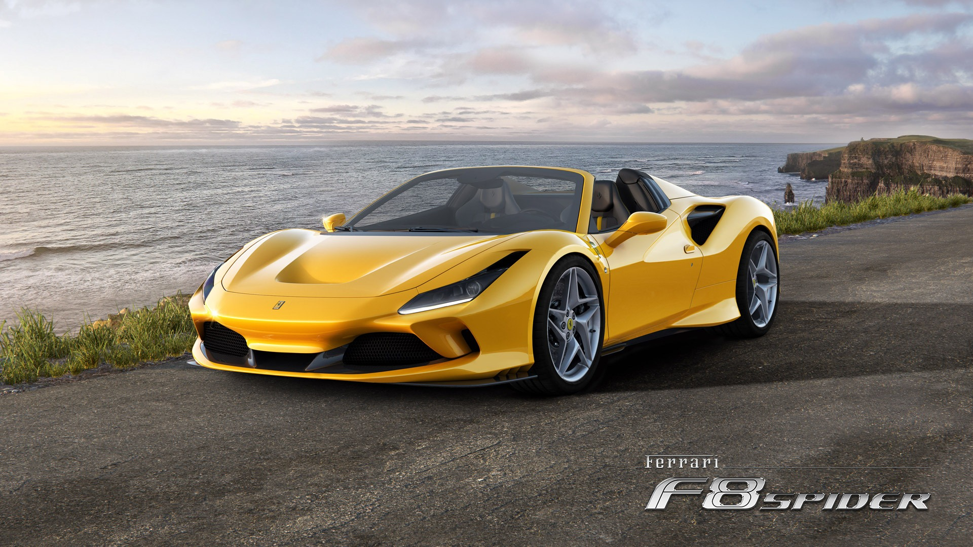 New 2020 Ferrari F8 Spider for sale Call for price at Bentley Greenwich in Greenwich CT 06830 1