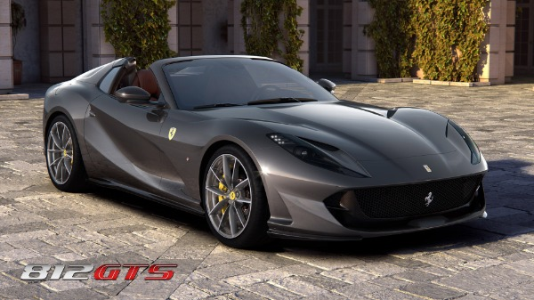 New 2020 Ferrari 812GTS for sale Call for price at Bentley Greenwich in Greenwich CT 06830 2