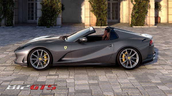 New 2021 Ferrari 812GTS for sale Call for price at Bentley Greenwich in Greenwich CT 06830 3