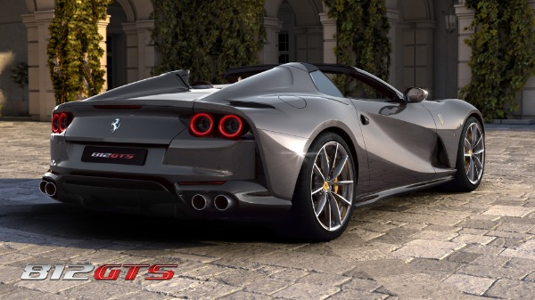 New 2021 Ferrari 812GTS for sale Call for price at Bentley Greenwich in Greenwich CT 06830 5