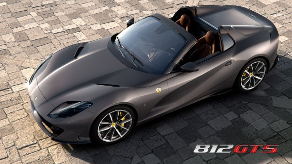 New 2020 Ferrari 812GTS for sale Call for price at Bentley Greenwich in Greenwich CT 06830 1