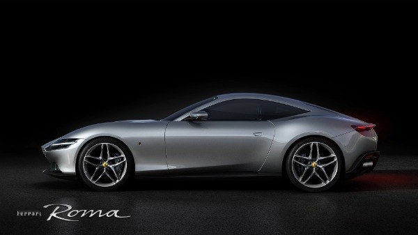 New 2021 Ferrari Roma for sale Call for price at Bentley Greenwich in Greenwich CT 06830 2