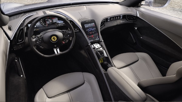 New 2021 Ferrari Roma for sale Call for price at Bentley Greenwich in Greenwich CT 06830 5