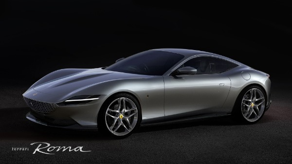New 2021 Ferrari Roma for sale Call for price at Bentley Greenwich in Greenwich CT 06830 1