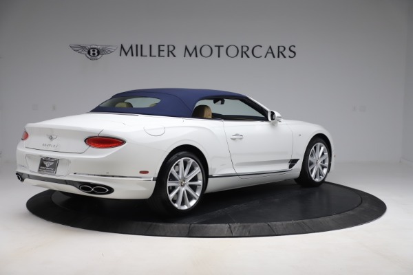 New 2020 Bentley Continental GTC V8 for sale $262,475 at Bentley Greenwich in Greenwich CT 06830 16