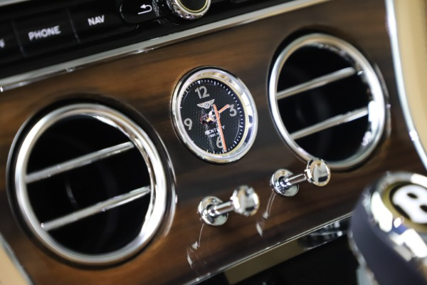 New 2020 Bentley Continental GTC V8 for sale $262,475 at Bentley Greenwich in Greenwich CT 06830 28