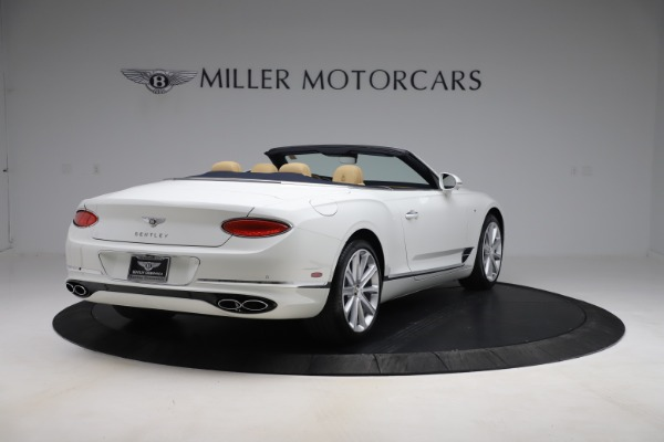 New 2020 Bentley Continental GTC V8 for sale $262,475 at Bentley Greenwich in Greenwich CT 06830 7