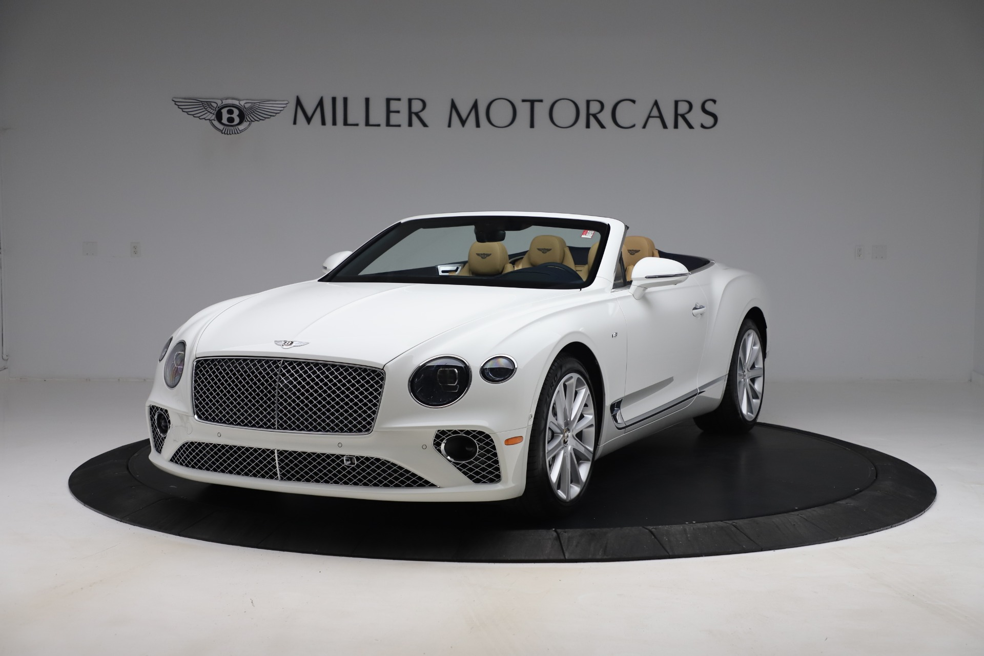 New 2020 Bentley Continental GTC V8 for sale $262,475 at Bentley Greenwich in Greenwich CT 06830 1