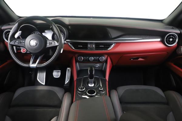 Used 2019 Alfa Romeo Stelvio Quadrifoglio for sale $68,000 at Bentley Greenwich in Greenwich CT 06830 16