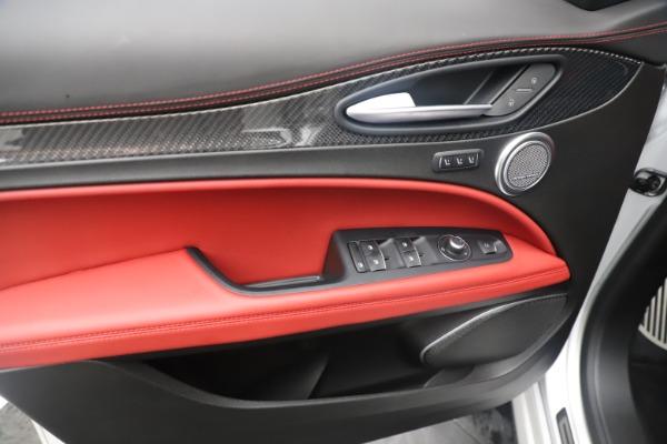 Used 2019 Alfa Romeo Stelvio Quadrifoglio for sale $68,000 at Bentley Greenwich in Greenwich CT 06830 17