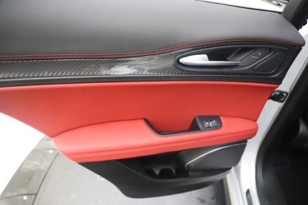 Used 2019 Alfa Romeo Stelvio Quadrifoglio for sale $68,000 at Bentley Greenwich in Greenwich CT 06830 21