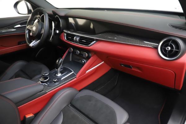 Used 2019 Alfa Romeo Stelvio Quadrifoglio for sale $68,000 at Bentley Greenwich in Greenwich CT 06830 22