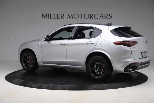 Used 2019 Alfa Romeo Stelvio Quadrifoglio for sale $68,000 at Bentley Greenwich in Greenwich CT 06830 4