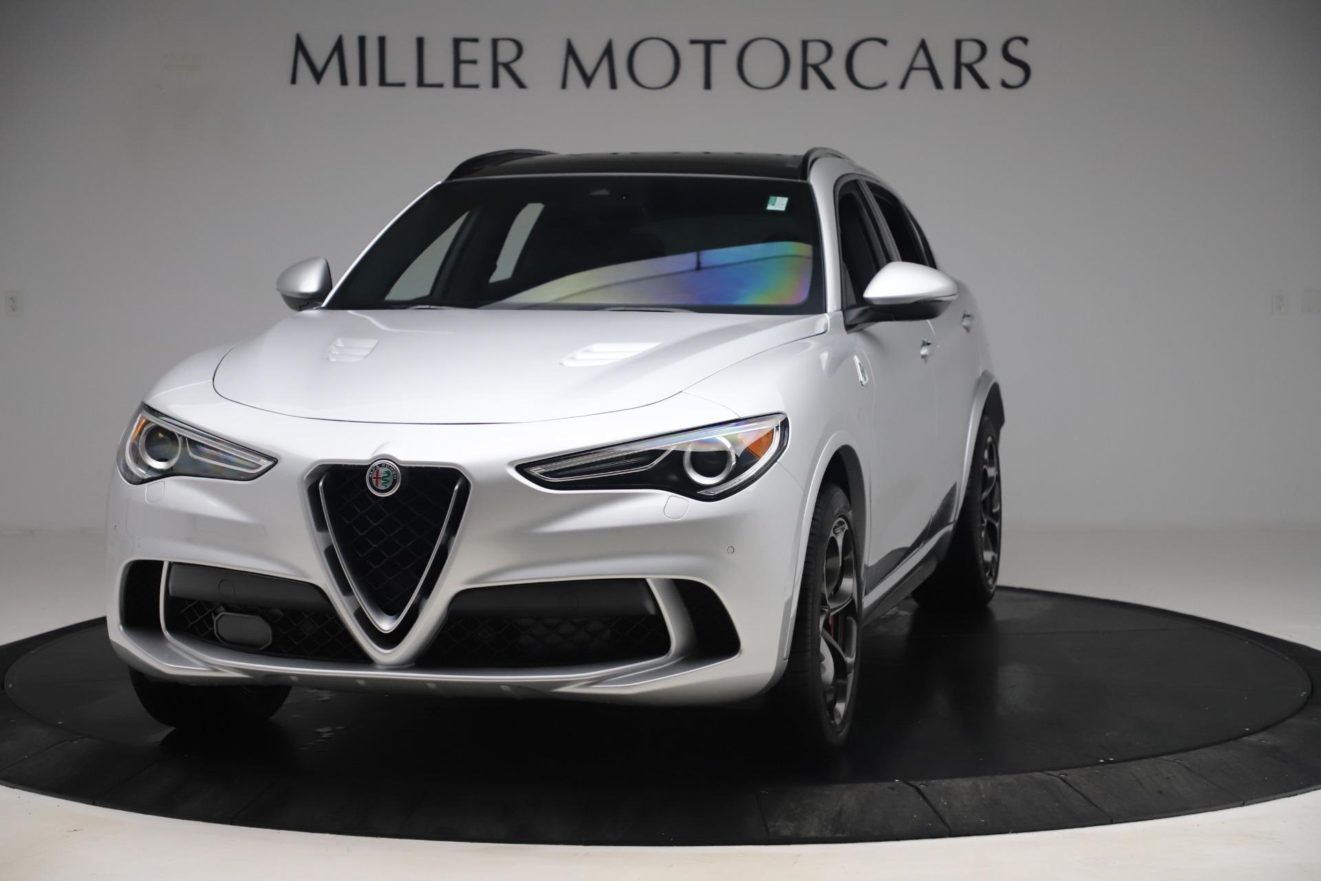 Used 2019 Alfa Romeo Stelvio Quadrifoglio for sale $68,000 at Bentley Greenwich in Greenwich CT 06830 1